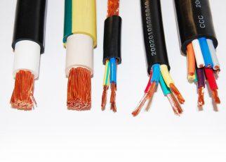 .انواع کابل برق کابل (Cable) یا شاه سیم به مجموعه یک یا چند سیم که در کنار هم یا به صورت بسته یا به صورت به هم بافته شده قرار گرفته و توسط یک لایه محا